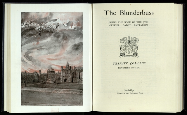 Watercolour from The Blunderbuss