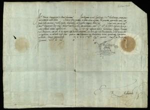 Cullum E.129/7 front (Elizabeth I)