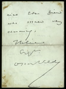 Cullum Q.49.1 back (Oscar Wilde)