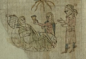 Female doctor, f. 99v