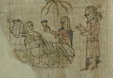 Female doctor, f. 99v