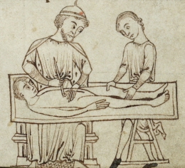 Exploratory surgery. (f. 254r)