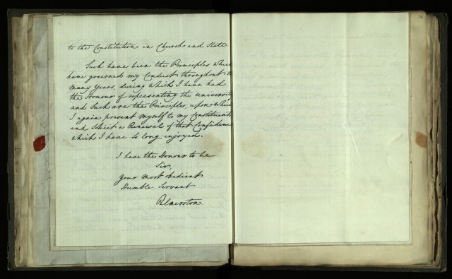 Circular letter from Lord Palmerston, 2 April 1831 [R.1.76, item 33]