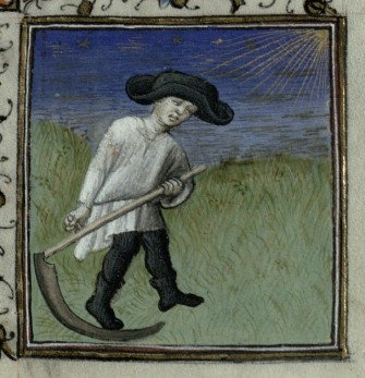 Harvesting the Hay. Trin MS  B.11.31