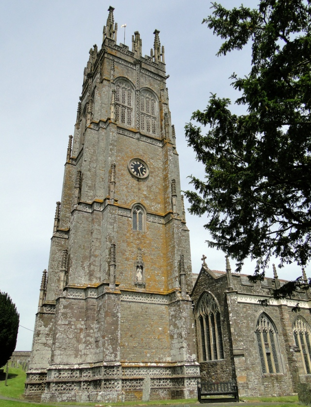 The Tower of Chittlehampton Church