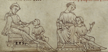 Treatment of nasal polyps. f. 259v.