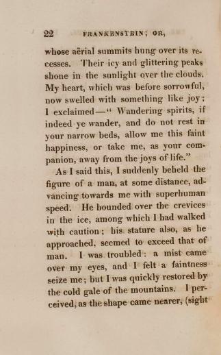 Frankenstein page 1 of 2