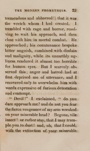 Frankenstein page 2 of 2
