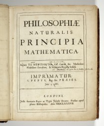 The Title Page of Principia Mathematica