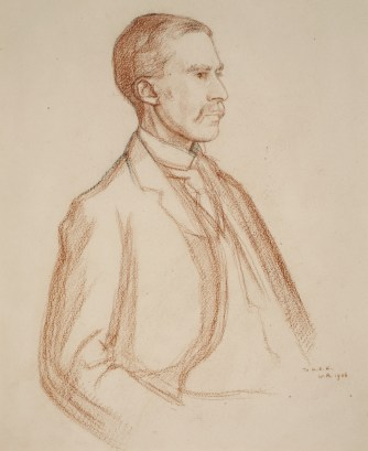housman-by-rothenstein