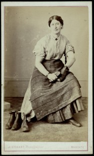 Hannah Cullwick, 1864 [Munby 114/3a]
