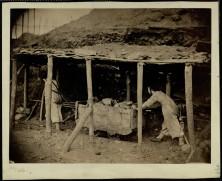 Belgian Pit Girls Hauling a Coal Wagon, 1862 [Munby 120/21b]