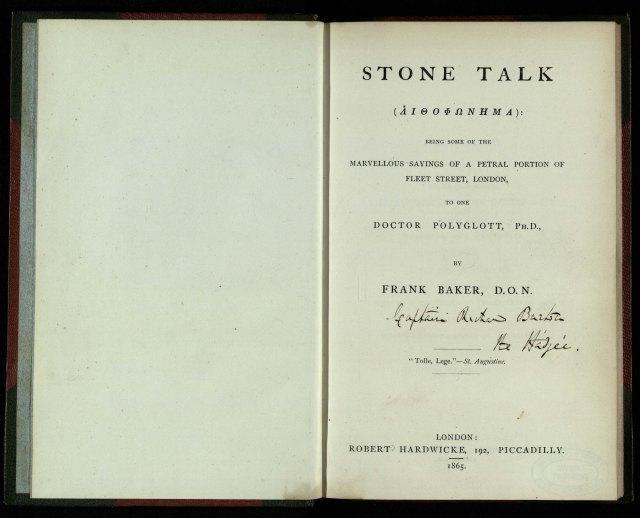 stone-talk