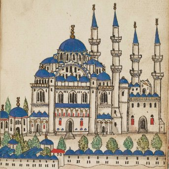 Day 4_Detail of the city of Constantinople from a 17th-century Album (R.14.23, f.56r)